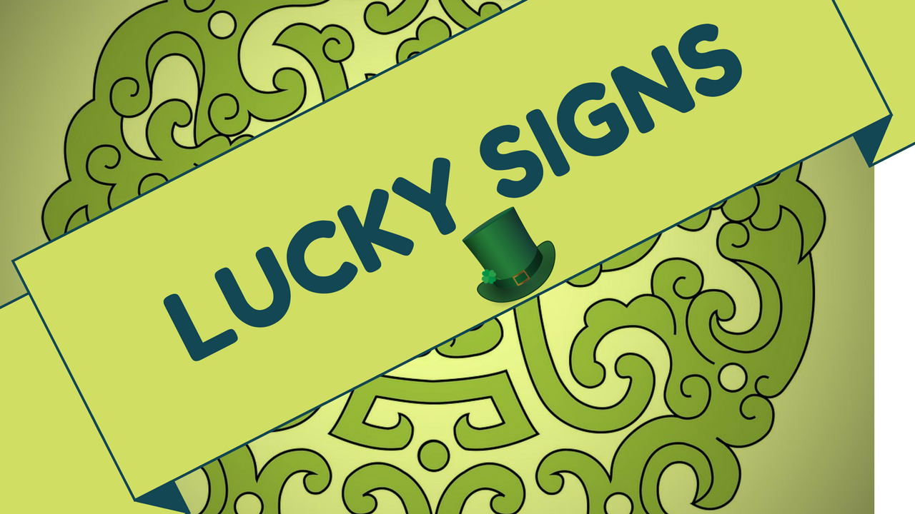 Lucky signs in palmistry