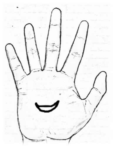 Sign of a moon in palmistry