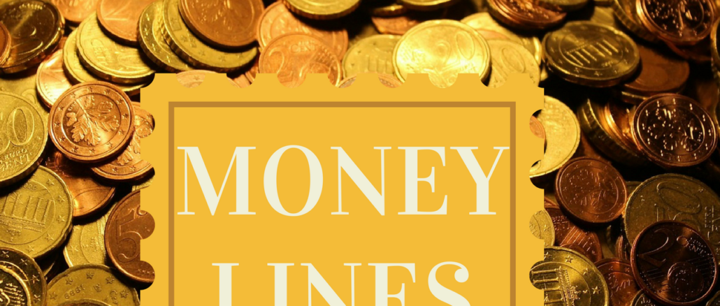 Money lines/Wealth lines on palm