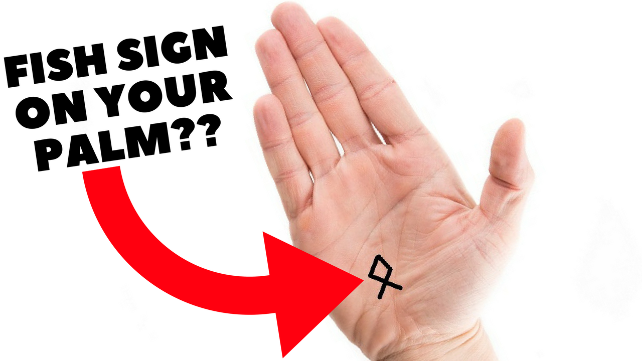 FISH SIGN ON YOUR PALM IN PALMISTRY