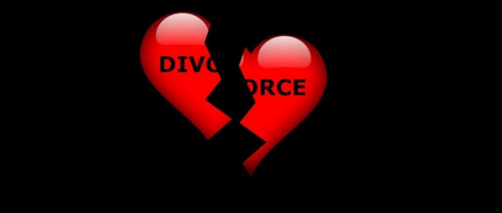 Signs of a divorce/separation line in palmistry