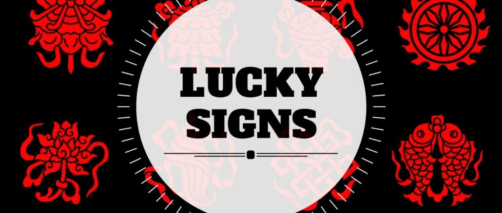 Lucky signs/auspicious signs in hand-palmistry