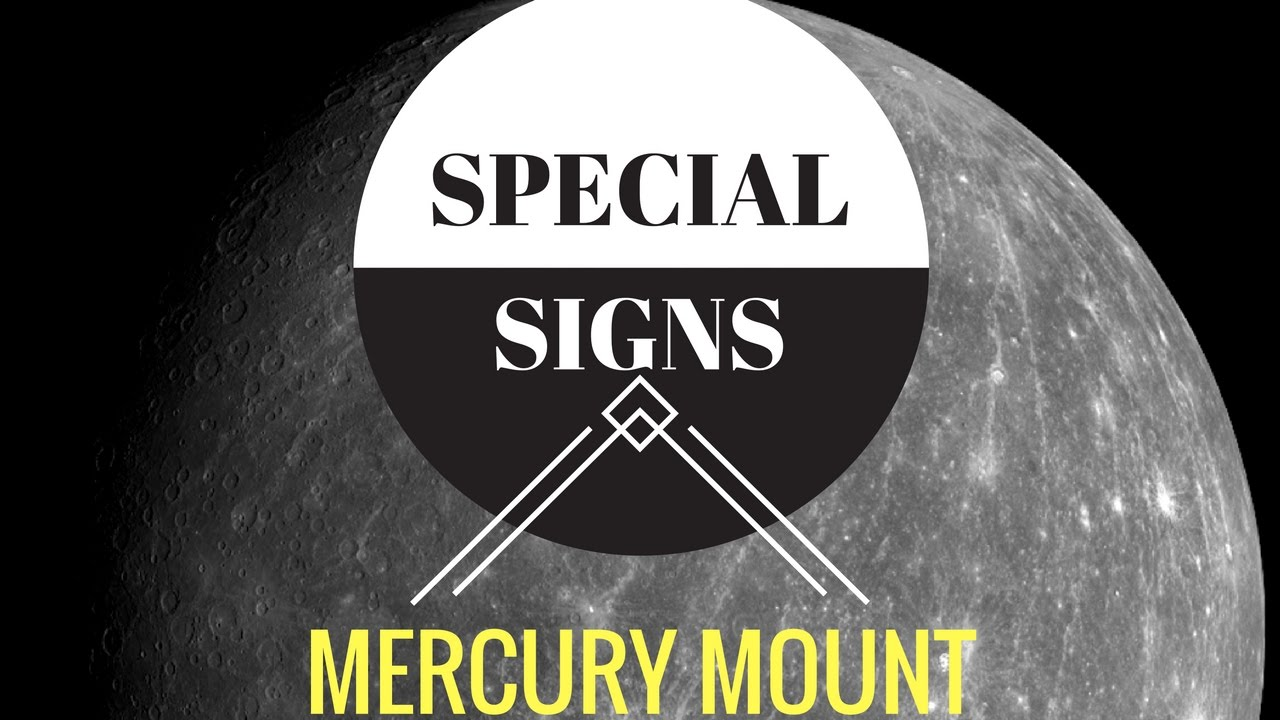 special signs on the mount of mercury in palmistry