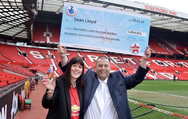Sean Lloyd Lottery Winner