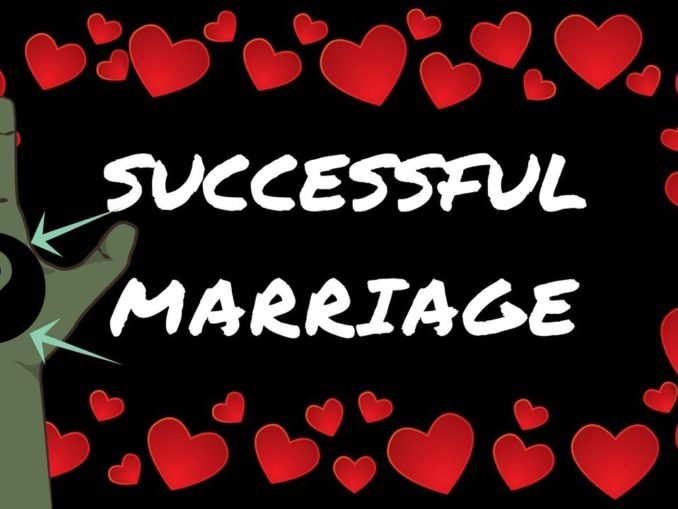 successful marriage line in palmistry
