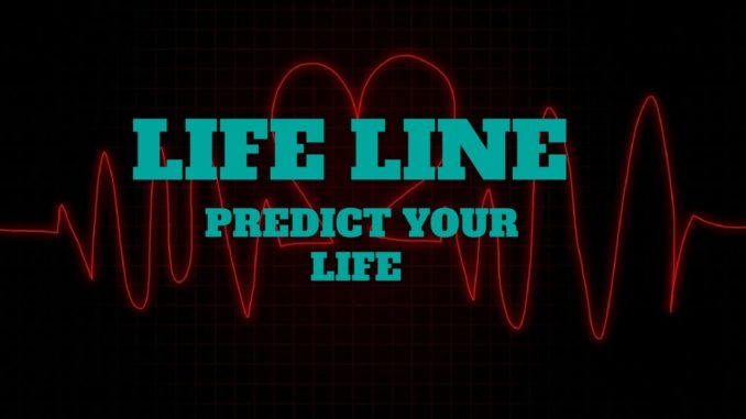 Life line in palmistry/Life line palm reading