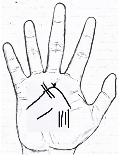 goat sign in palmistry