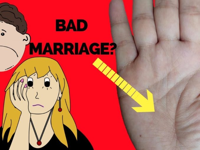 problems in marriage palmistry