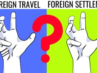foreign settlement in palmistry