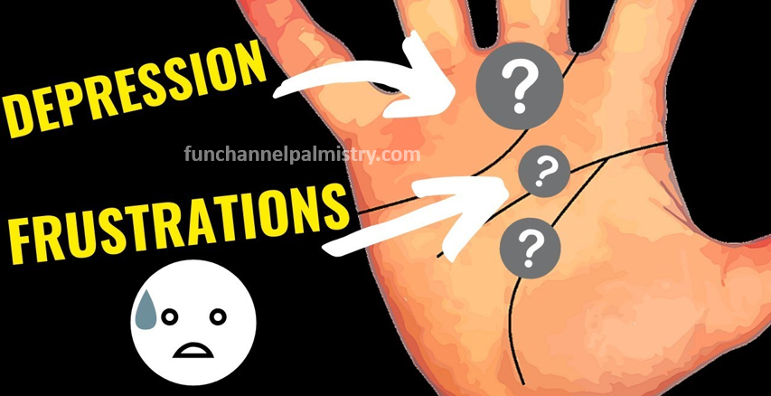 depression signs in palmistry