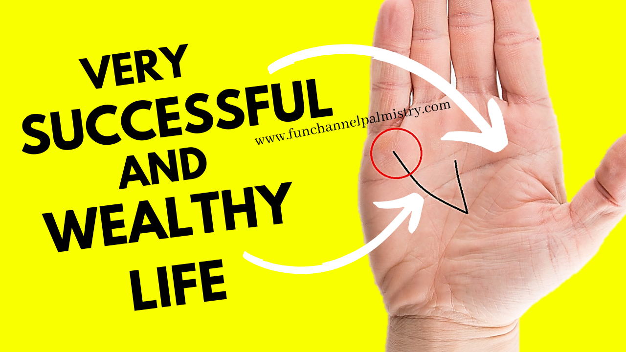 success lines in palmistry