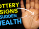 Lottery signs and sudden wealth in palmistry