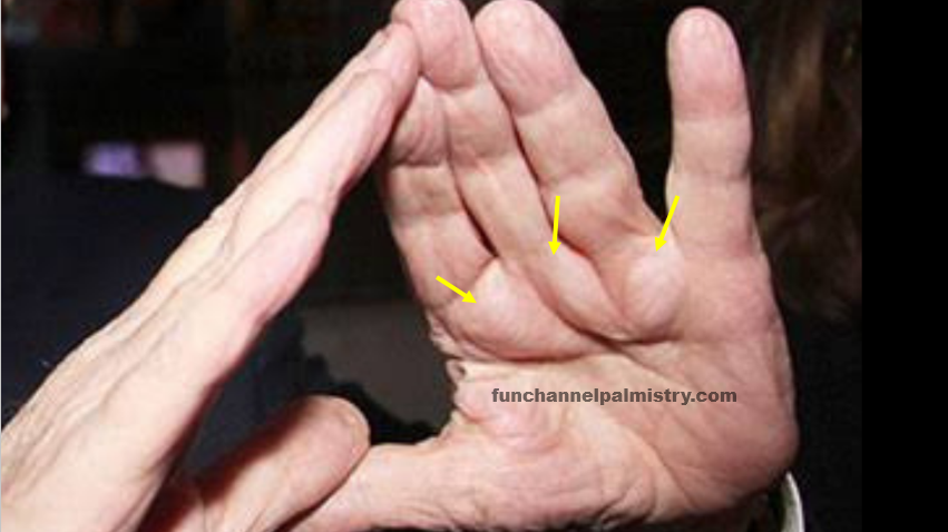 billionaire signs and bulging mounts in palmistry