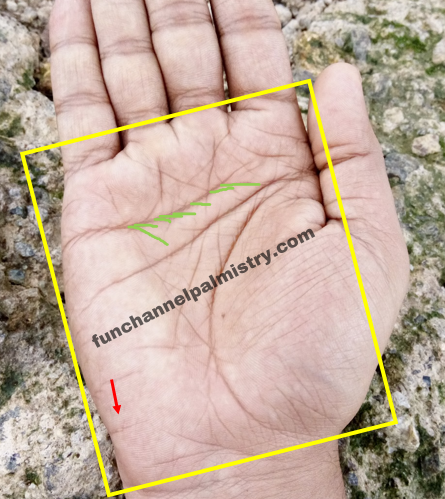 Island on travel line palmistry