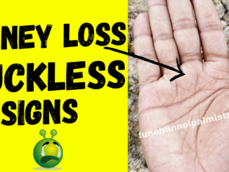 money loss and luckless signs in palmistry