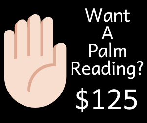 want a palm reading?