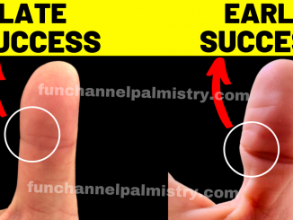 early success in palmistry